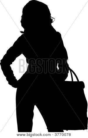 Shopping Posing Girl