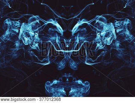 Smoke Effect Or Beautiful White Smoke Unique Pattern