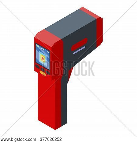 Display Thermal Imager Icon. Isometric Of Display Thermal Imager Vector Icon For Web Design Isolated
