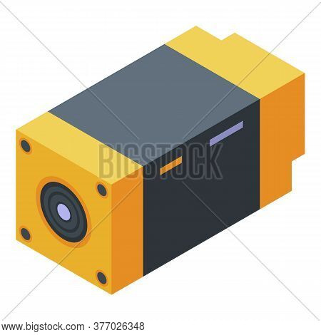 Thermal Imager Tool Icon. Isometric Of Thermal Imager Tool Vector Icon For Web Design Isolated On Wh