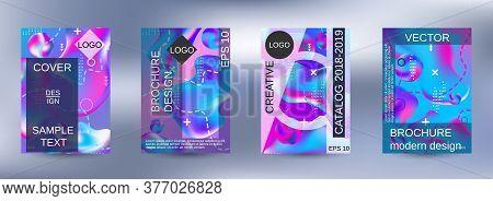 Modern Design Template. Creative Fluid Backgrounds. Artistic Covers Design. Creative Fluid Colors Ba