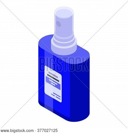 Hand Antiseptic Icon. Isometric Of Hand Antiseptic Vector Icon For Web Design Isolated On White Back