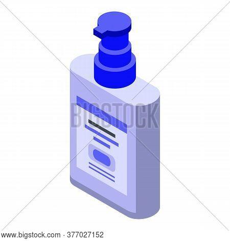 Wash Dispenser Antiseptic Icon. Isometric Of Wash Dispenser Antiseptic Vector Icon For Web Design Is