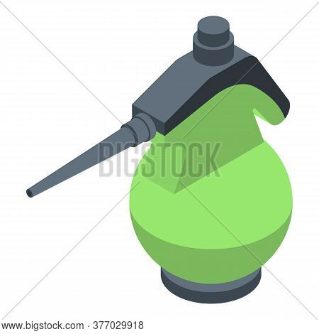 Wet Steam Cleaner Icon. Isometric Of Wet Steam Cleaner Vector Icon For Web Design Isolated On White
