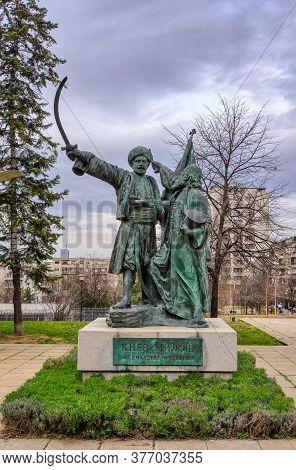 Belgrade / Serbia - March 1, 2020: Statue Of Prince Milos Obrenovic, Leader Of The Second Serbian Up