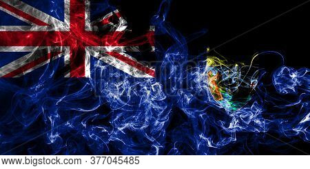 Saint Helena Smoke Flag, British Overseas Territories, Britain Dependent Territory Flag