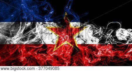 Yugoslavia Smoke Flag National Smoke Flag Jugoslavija