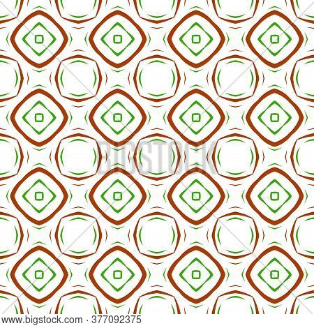 Abstract Bright Modern Geometric Seamless Pattern. Art Deco Geo Background. Popular Tile Infinity Ba