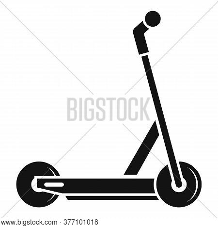 Electric Modern Scooter Icon. Simple Illustration Of Electric Modern Scooter Vector Icon For Web Des