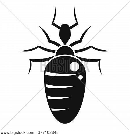 Insect Nature Bug Icon. Simple Illustration Of Insect Nature Bug Vector Icon For Web Design Isolated