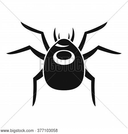 Spider Forest Bug Icon. Simple Illustration Of Spider Forest Bug Vector Icon For Web Design Isolated