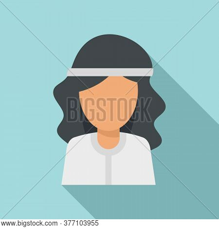 Hypnosis Woman Icon. Flat Illustration Of Hypnosis Woman Vector Icon For Web Design