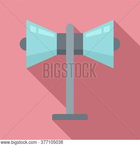 Remarketing Megaphone Icon. Flat Illustration Of Remarketing Megaphone Vector Icon For Web Design