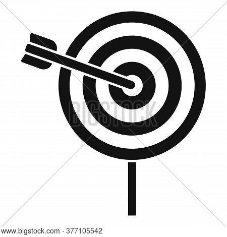 Remarketing Target Icon. Simple Illustration Of Remarketing Target Vector Icon For Web Design Isolat