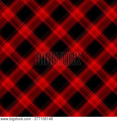 Plaid Pattern. Flannel Texture. Checkered Background. Texture From Tartan, Plaid, Tablecloths, Shirt