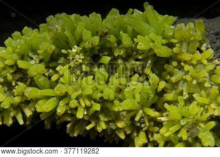 Pyromorphite A Mineral Consisting Of Lead Chloride And Phosphate A Minor Source Of Lead