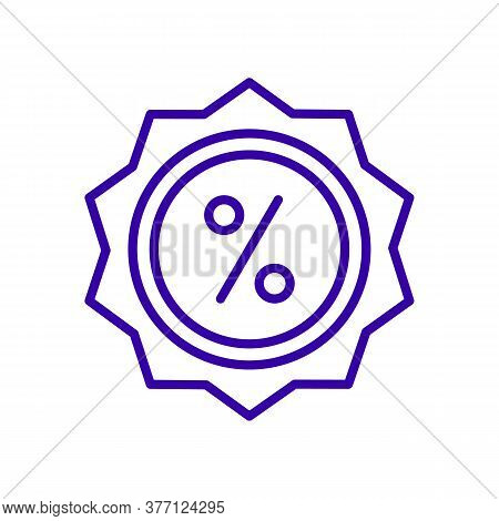 Sale Icon Isolated On White Background From Online Shopping Collection. Sale Icon Trendy And Modern