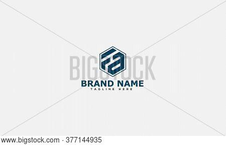 Fa Logo Design Template Vector Graphic Branding Element.