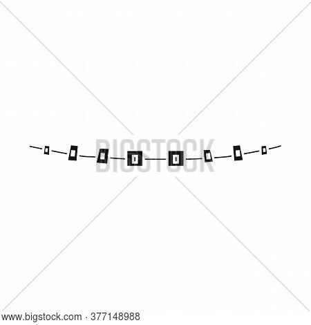 Vector Illustration Of Brackets And Braces Sign. Web Element Of Brackets And Metal Stock Symbol For