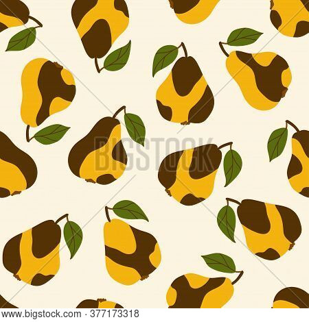 Seamless Pattern For Design, Printed Products, Textiles. Autumn And Summer Motives. Bright Color Ill