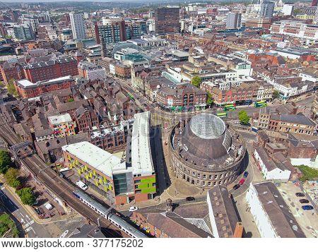May 2020, Uk: City Centre Corn Exchange In Leeds City Centre