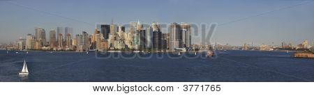 Ny Harbor Panorama