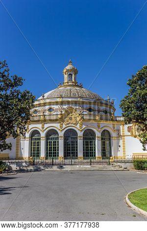 Lope De Vega Theater In Historic City Sevilla, Spain