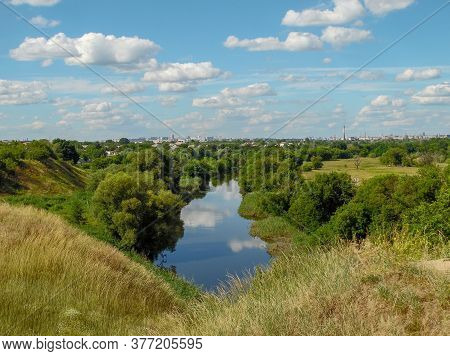 River View Overlooking Kharkov, Donets Fortress, Ukraine