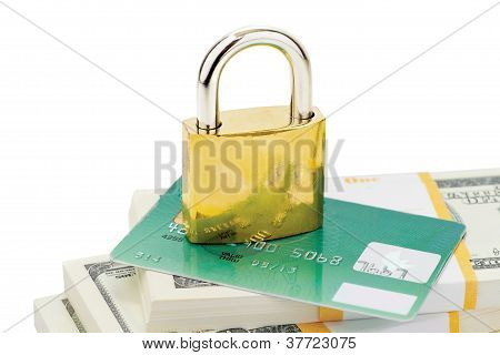 Credit Card Security Concept