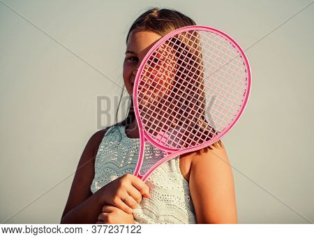Energy Inside. Game Playing. Summer Outdoor Games. Play Tennis. Childhood Happiness. Healthy Lifesty