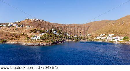 Martinakia Beach In Kythnos Island, Cyclades, Greece.