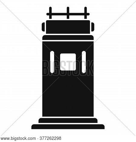 Dubai Kiosk Icon. Simple Illustration Of Dubai Kiosk Vector Icon For Web Design Isolated On White Ba