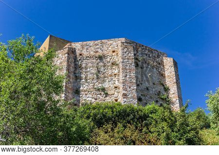 Historic Castle On Top Of The Hill In Zahara, Spain