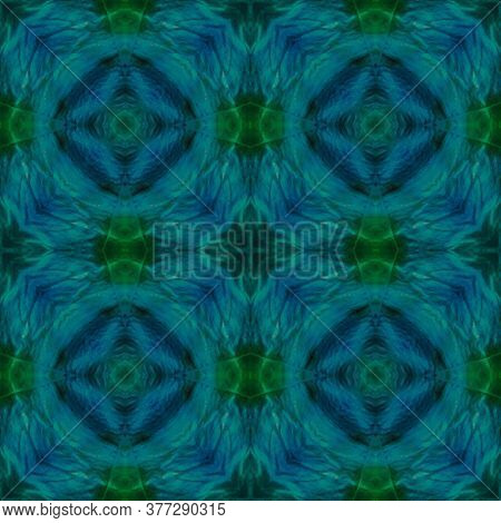 Original Tile Template.  Patterns Lisbon Decor. Ikat Rhombus Print. Dark Seamless Majolica Tiles Pri