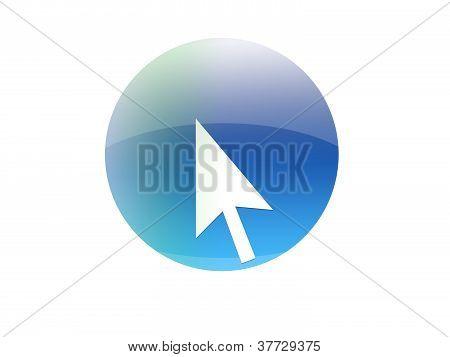 Cursor button