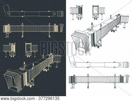 Airport Telescopic Gangway Drawings