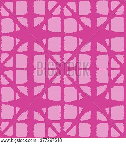 Japanese Tie Dye Seamless Pattern. Bohemian Geometric Asian Tie Dye Pattern. Rich Vip Japanese Cloth