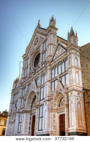 The Basilica di Santa Croce (Basilica of the Holy Cross) - famous Franciscan church on Florence