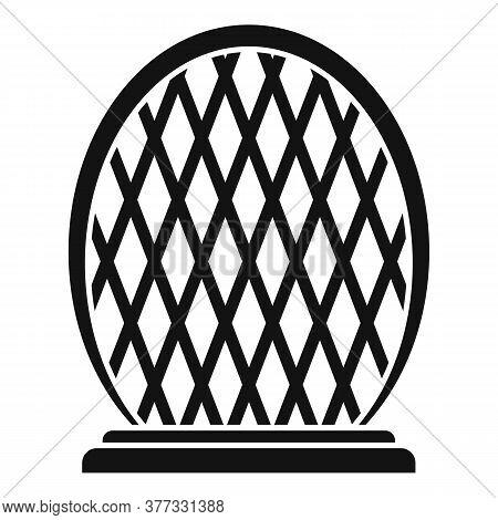 Mirror Dubai Building Icon. Simple Illustration Of Mirror Dubai Building Vector Icon For Web Design