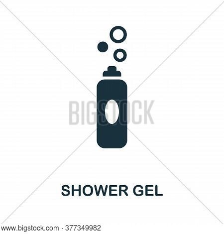 Shower Gel Icon. Simple Element From Personal Hygiene Collection. Creative Shower Gel Icon For Web D