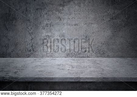 Design Element - Stone Texture And Background. Rock Texture. Cement Texture Concept. Floor, Shelf Fo