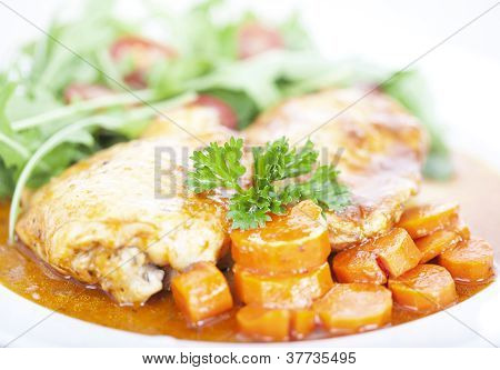 Chicken And Carrot Meal
