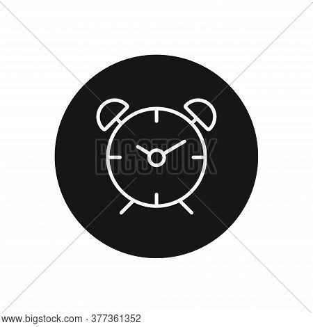 Alarm Icon Isolated On White Background. Alarm Icon In Trendy Design Style For Web Site And Mobile A