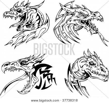 Значение татуировки головы дракона
