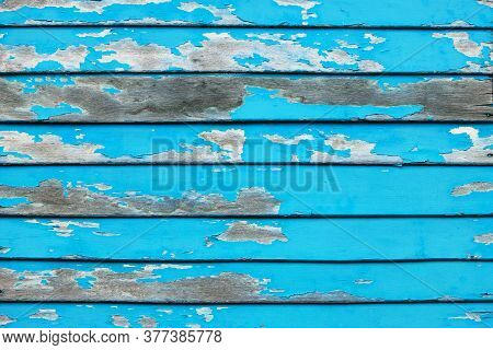 Old Wood Pieces Background Texture Surface And Sky Color Abrasions