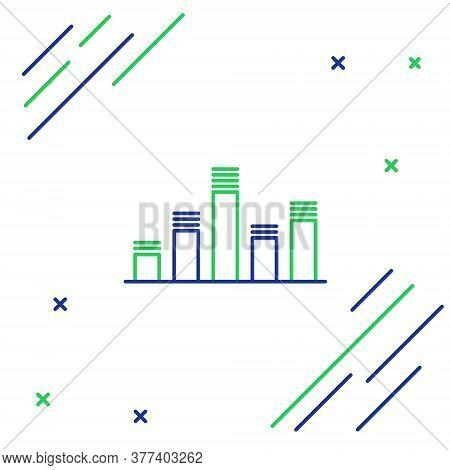 Line Music Equalizer Icon Isolated On White Background. Sound Wave. Audio Digital Equalizer Technolo