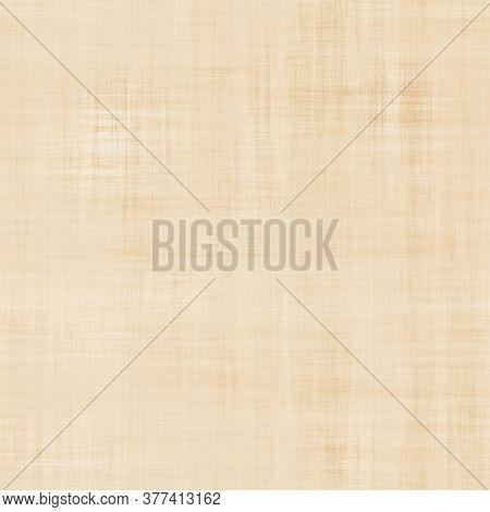 Seamless Hand Made Parchment Paper Background. Kraft Texture Pattern. Soft Ecru Beige Neutral Tone.