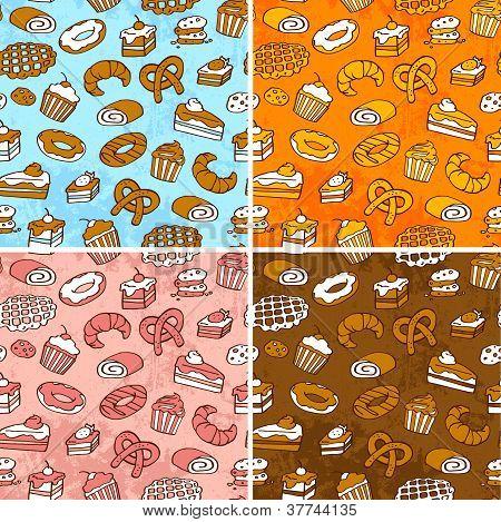 pastries patterns