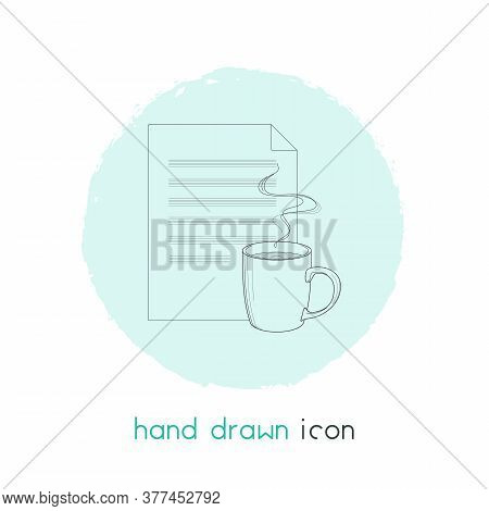 Fresh Content Icon Line Element. Vector Illustration Of Fresh Content Icon Line Isolated On Clean Ba