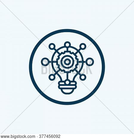 Insight Icon Isolated On White Background. Insight Icon Simple Sign. Insight Icon Trendy And Modern